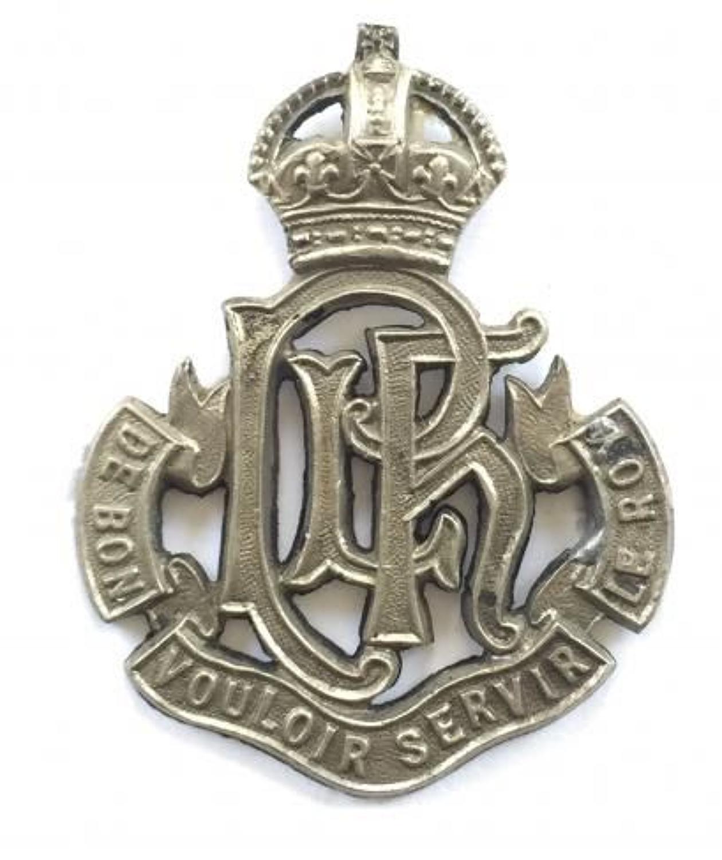 Indian Army. Punjab Light Horse cap badge.
