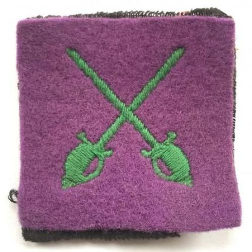 WW2 Special Service Battalion, Highland Regiment rare special forces formation sign.