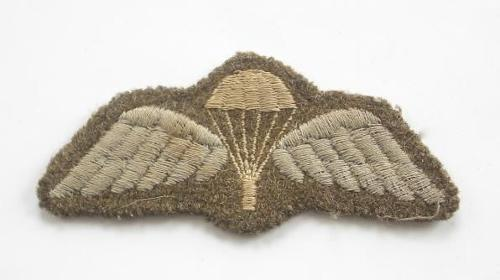 WW2 Parachute Quilification Wings