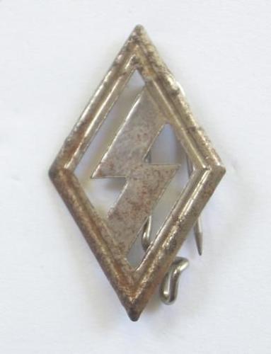 German Third Reich DJ member's badge.