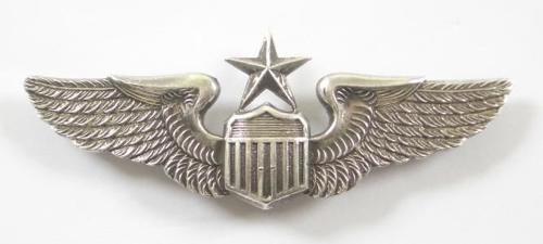 US Air Force Silvered Senior Pilot Wings.
