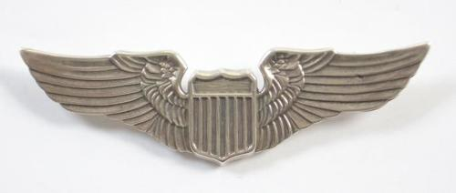 USAAF /USAF Silver Pilots Wings.