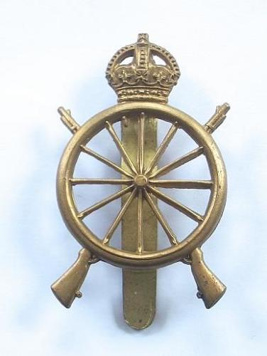 Northern Cyclist Battalion OR's brass cap badge.