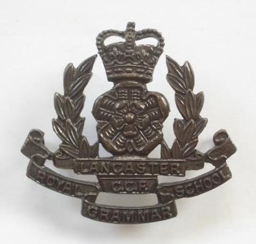 Royal Grammar School, Lancaster CCF cap badge.