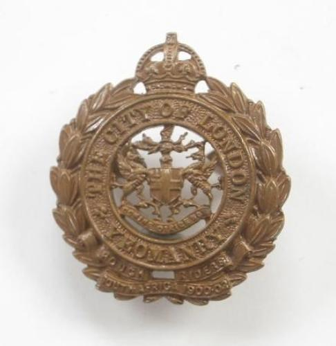 City of London Yeomany Rough Riders Officers OSD Cap Badge by J & Co (Jennens).