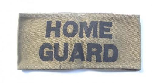 WW2 Home Guard Armband.