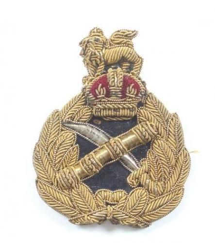 WW1 / WW2 British Army General's Bullion Cap Badge