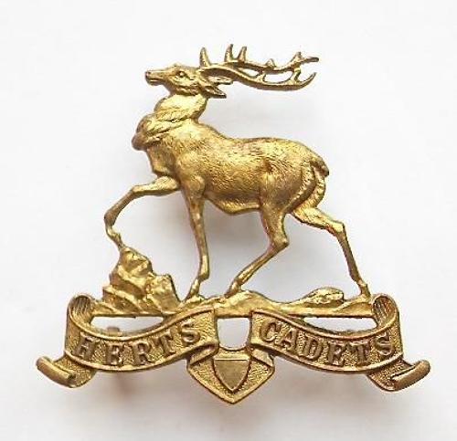 Hertfordshire Cadets cap badge