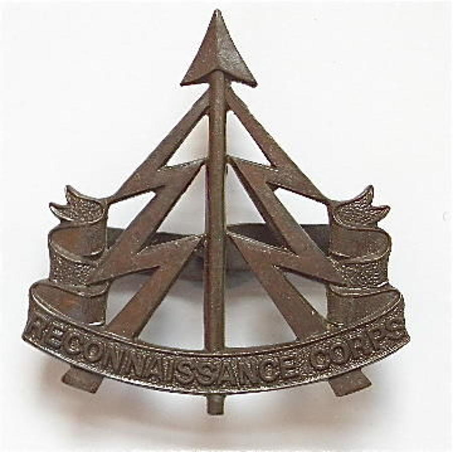 Reconnaissance Corps WW2 Officer's OSD cap badge