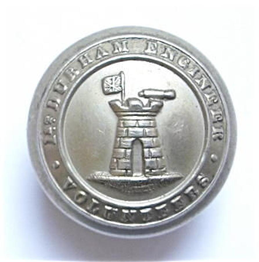 1st Durham Engineer Volunteers OR's button.