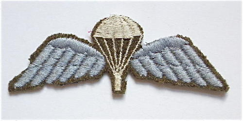 WW2 Parachute qualification wing.
