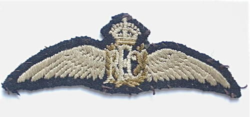 WW1 RFC scarce pair of Royal Flying Corps Pilot's Wings.