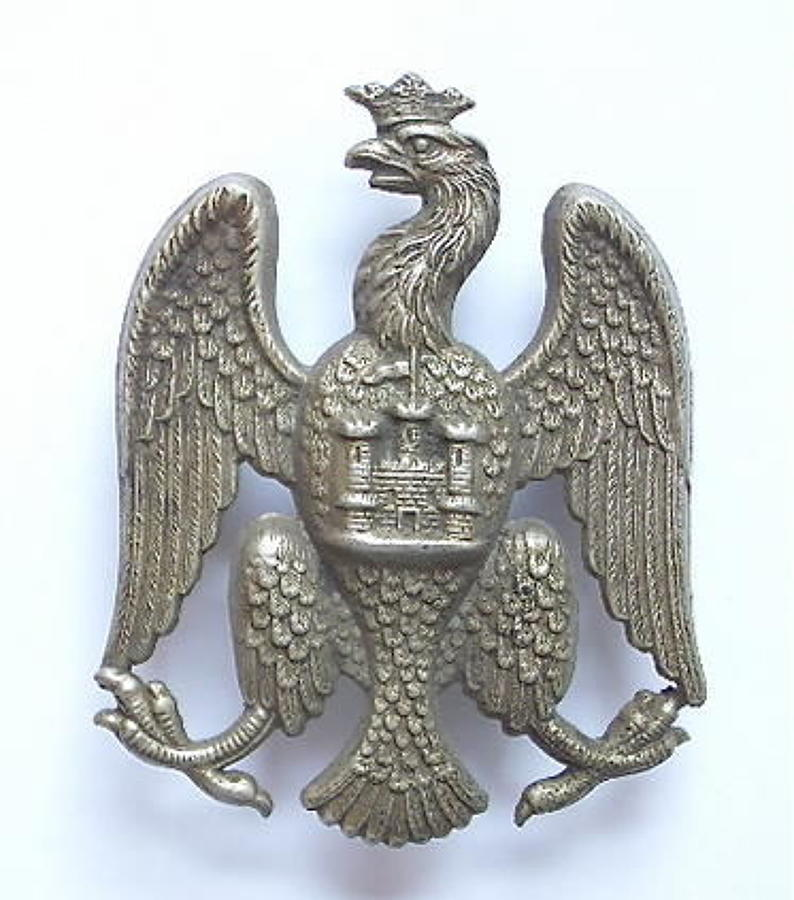 Bedfordshire Rifle Volunteers Victorian glengarry badge / shako plate