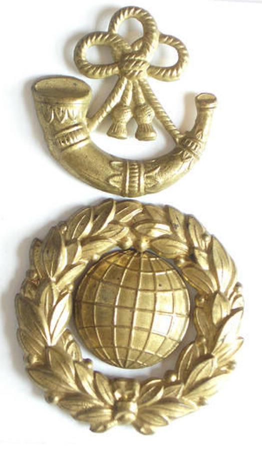 Royal Marine Light Infantry Victorian glengarry badge