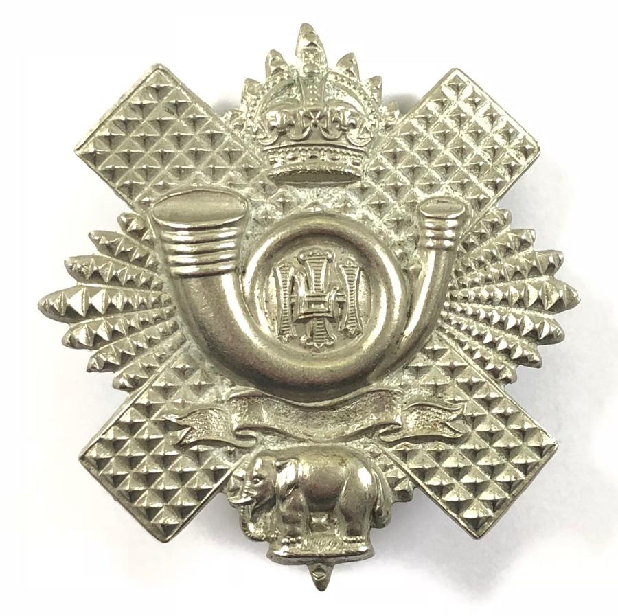 Highland Light Infantry 3rd and 4th (Militia) Bns. glengarry badge