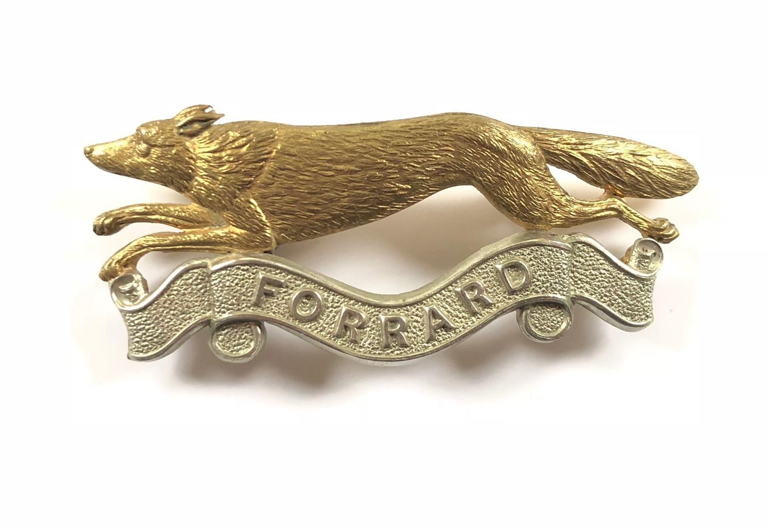 East Riding of Yorkshire Yeomanry NCO's arm badge