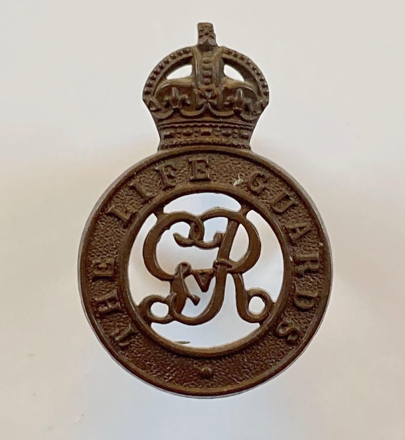 The Life Guards rare GvR OSD bronze cap badge