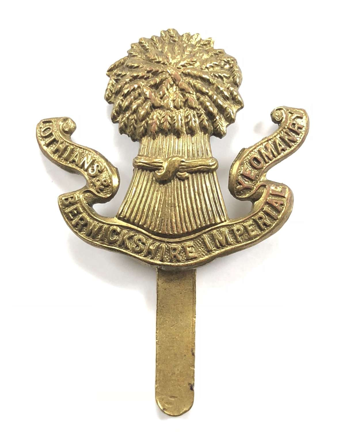 Lothians and Berwickshire Imperial Yeomanry OR's cap badge
