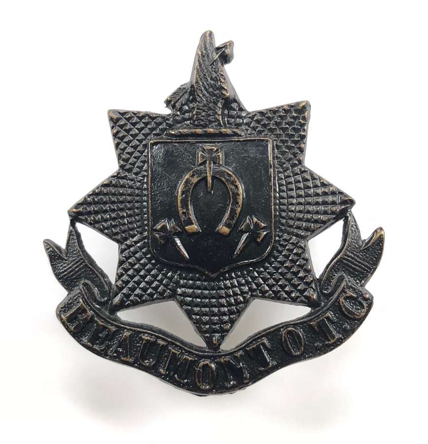 Beaumont College OTC (Old Windsor, Berkshire) cap badge