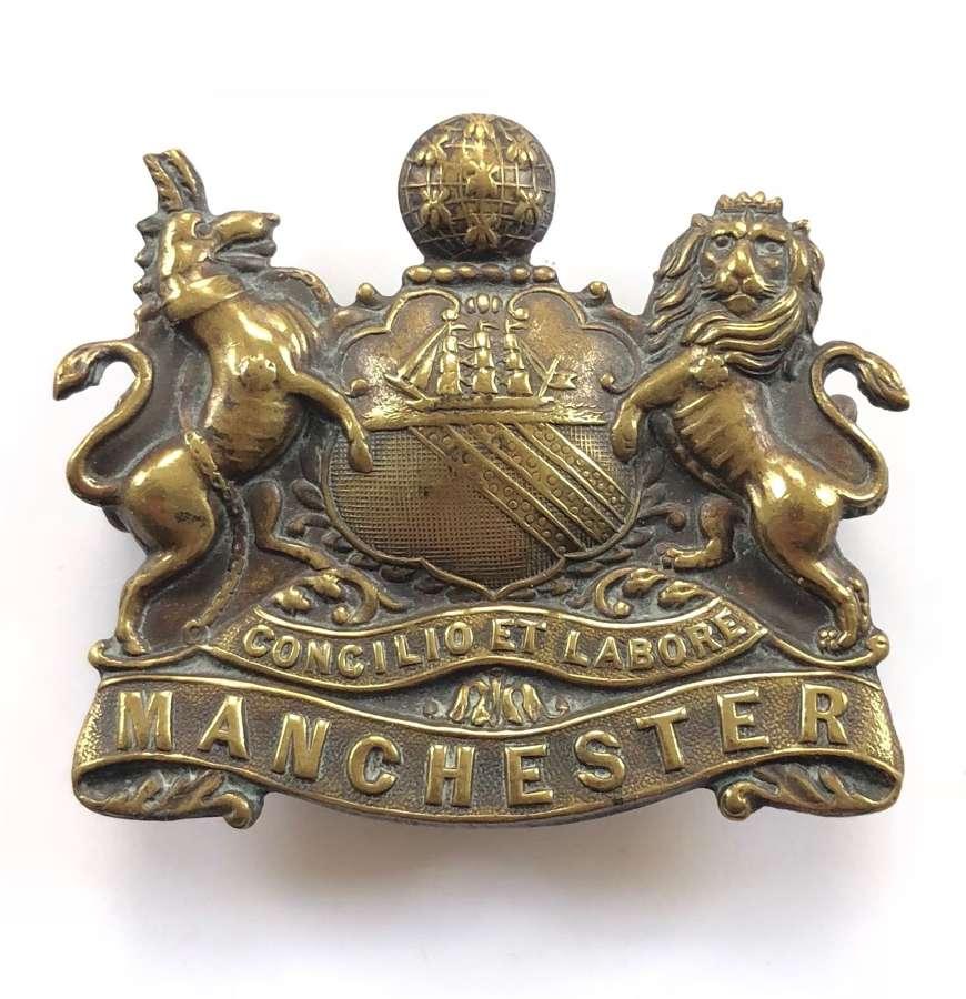 Manchester Regiment 'Pals' WW1 'Kitchener's Army' cap badge