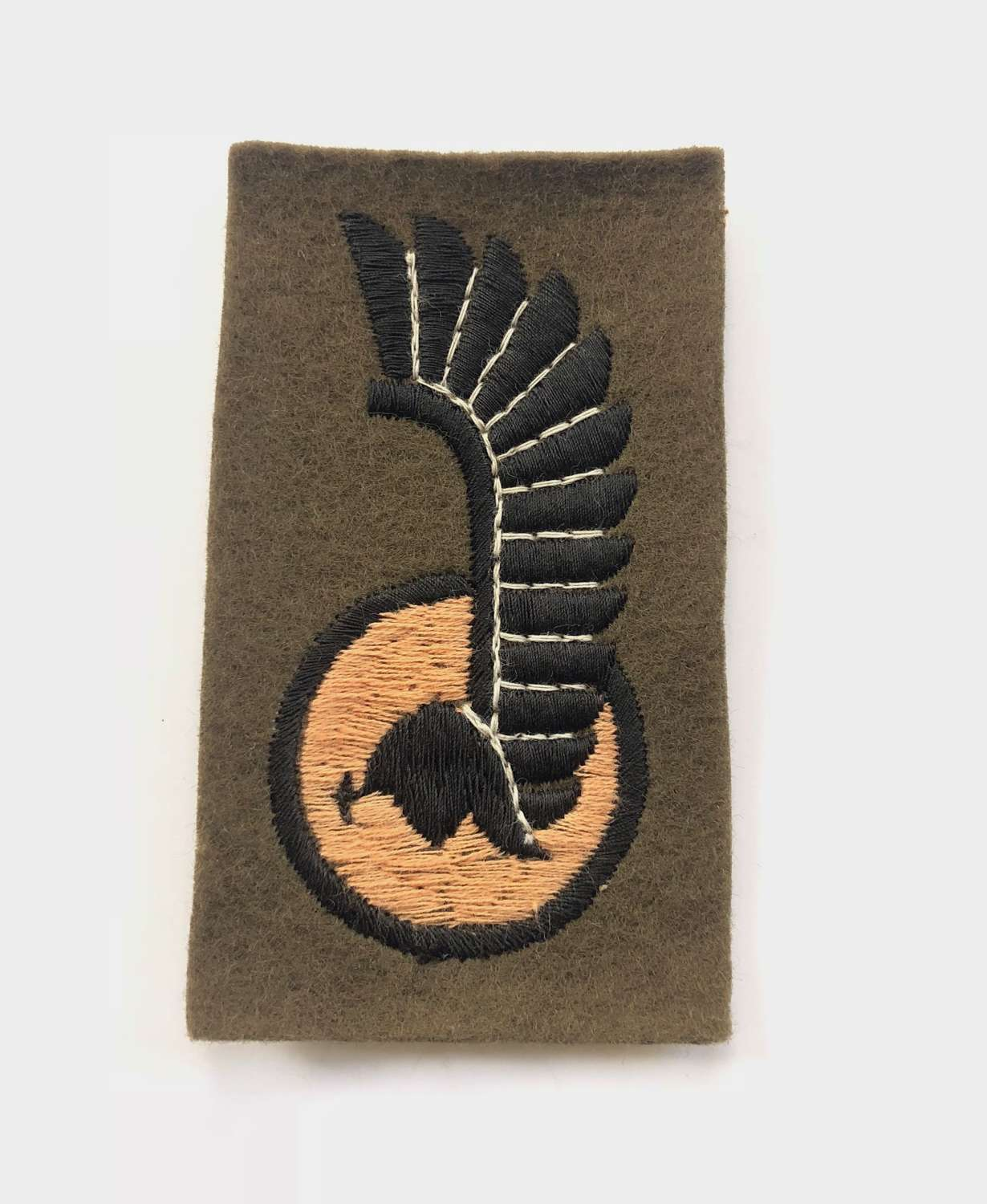 1st Polish Armoured Division WW2 cloth formation sign