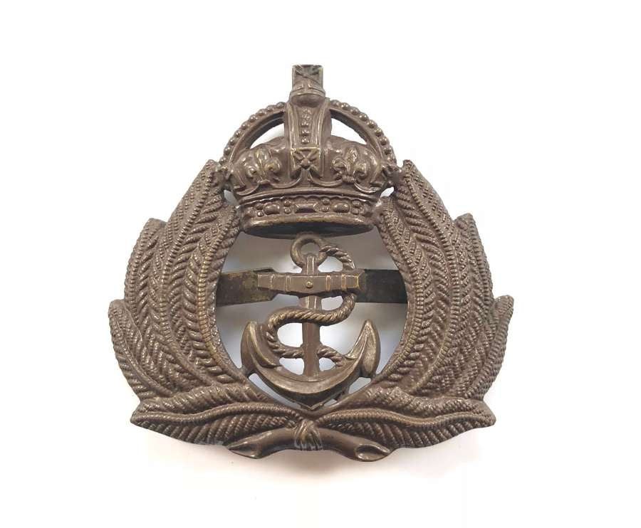 Royal Naval Division Officer's RND OSD cap badge circa 1915-18