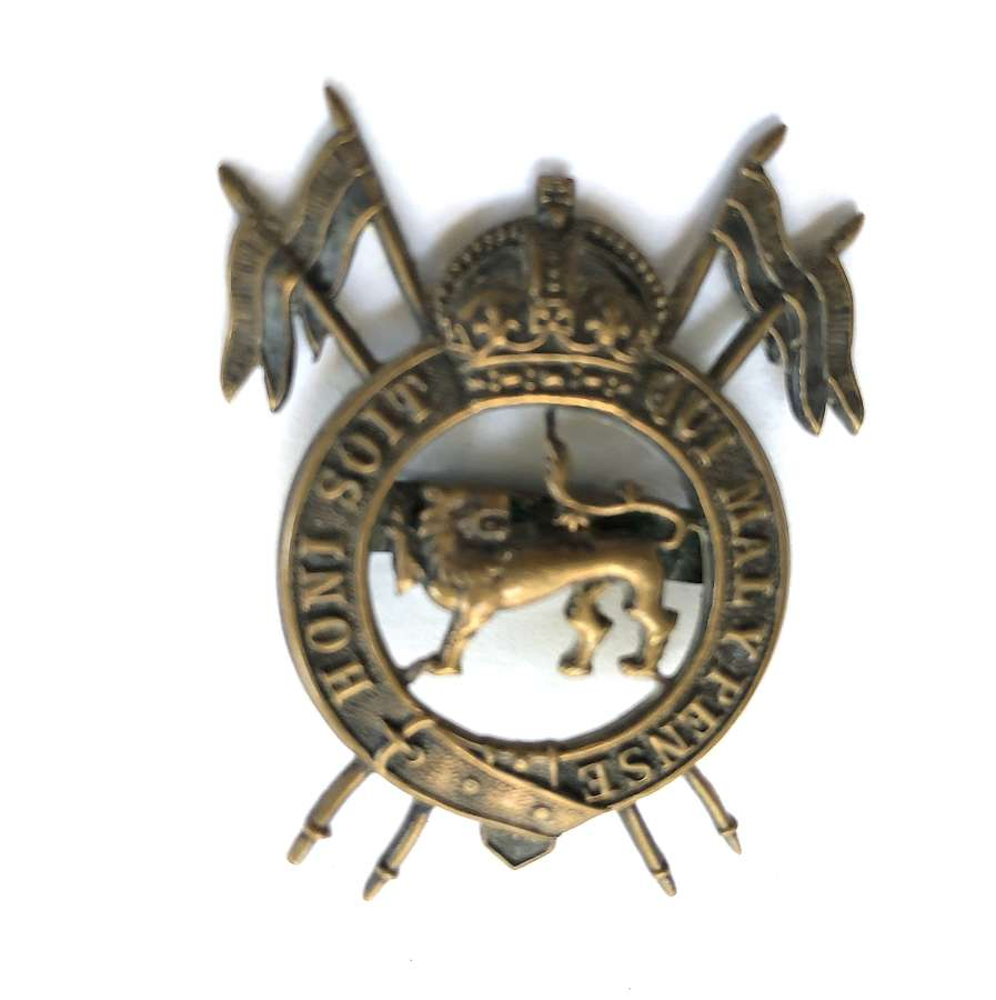 2nd Royal Lancers (Gardner's Horse) post 1935 OSD cap badge