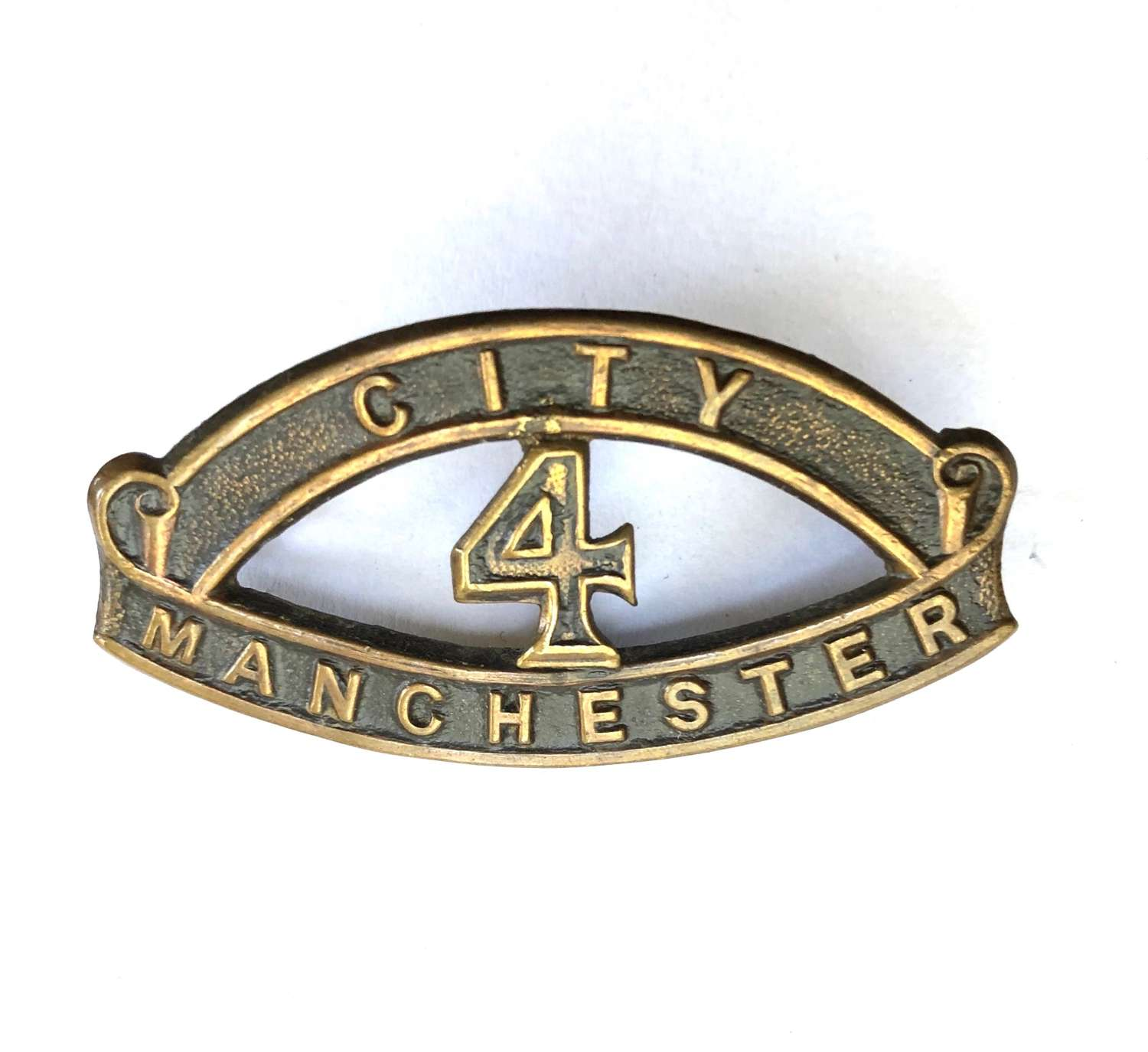CITY / 4 / MANCHESTER  'Manchester Pals'  'Kitchener's Army' title