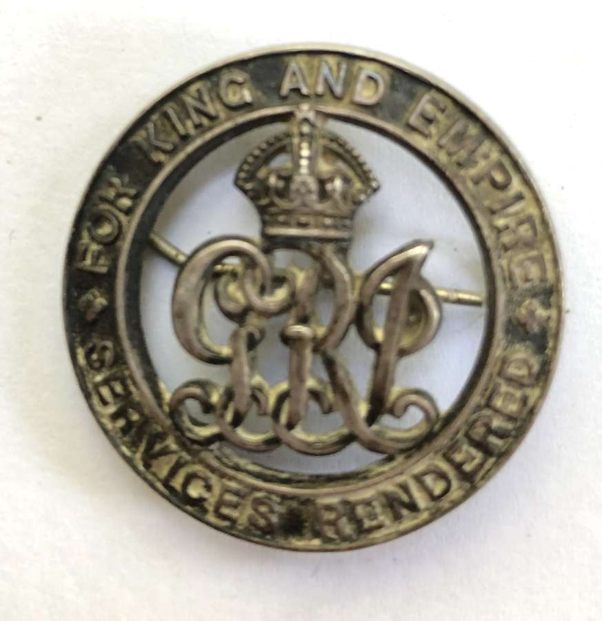 RND Nelson, Gallipoli casualty Silver War Badge