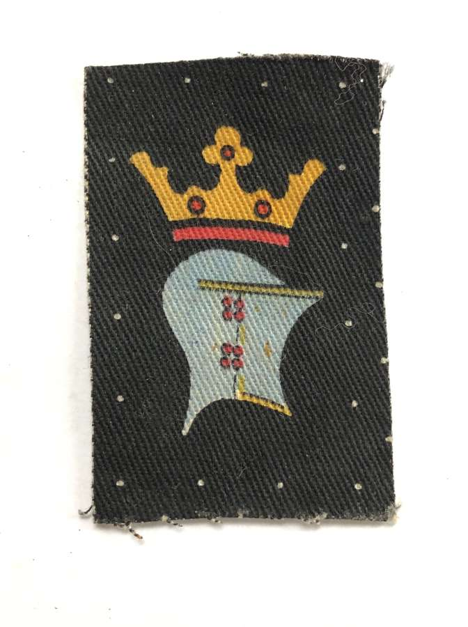 2nd (Coastal) Bn. Cornwall Home Guard WW2 cloth formation sign