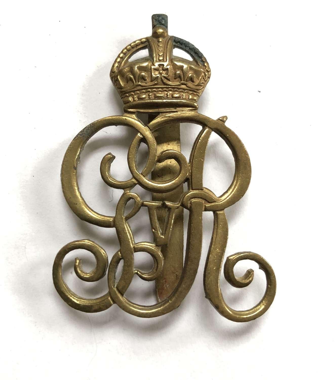 Norfolk Yeomanry post 1908 cap badge
