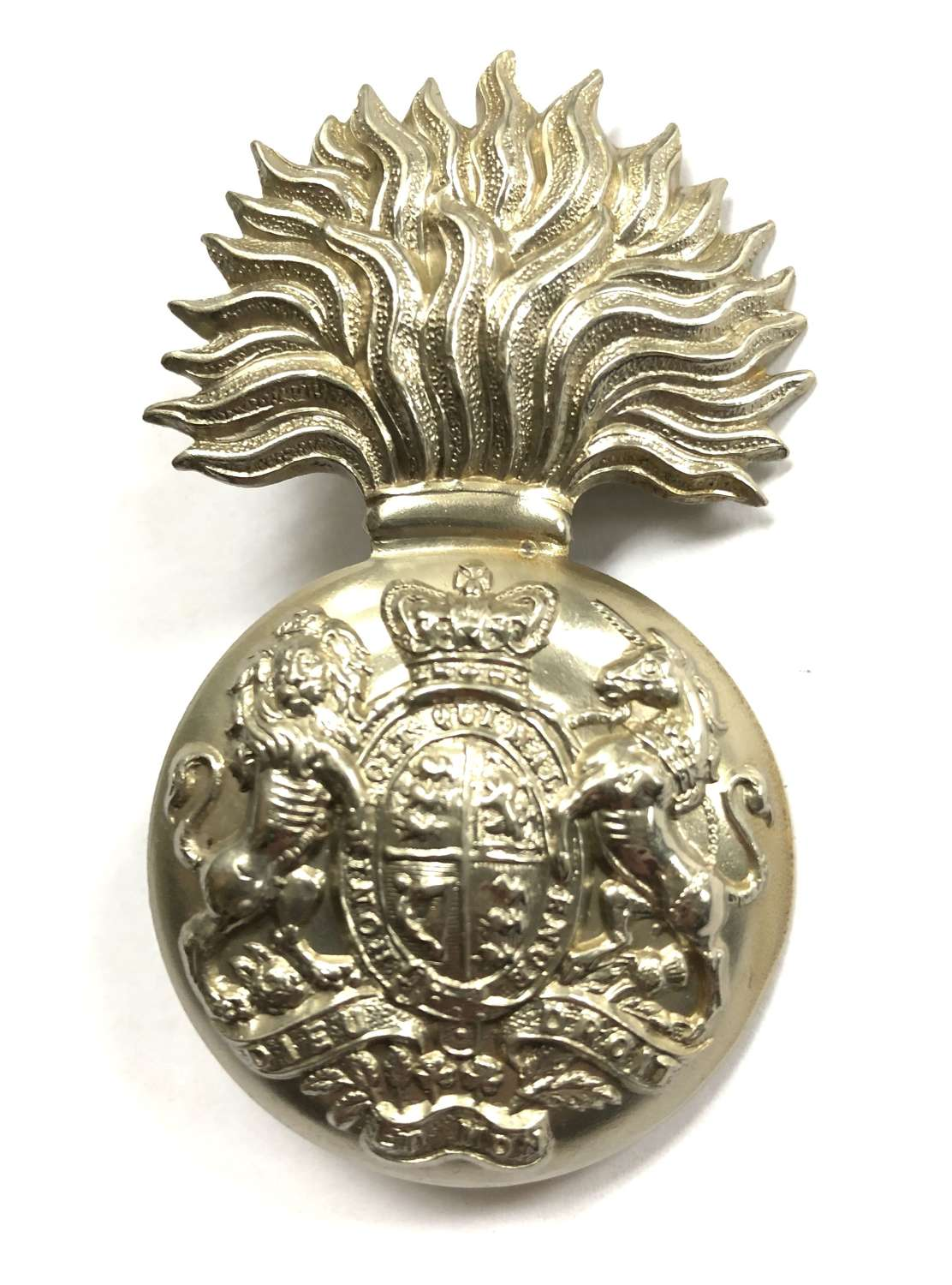 Royal Scots Fusiliers Victorian Volunteer Bn OR's glengarry badge