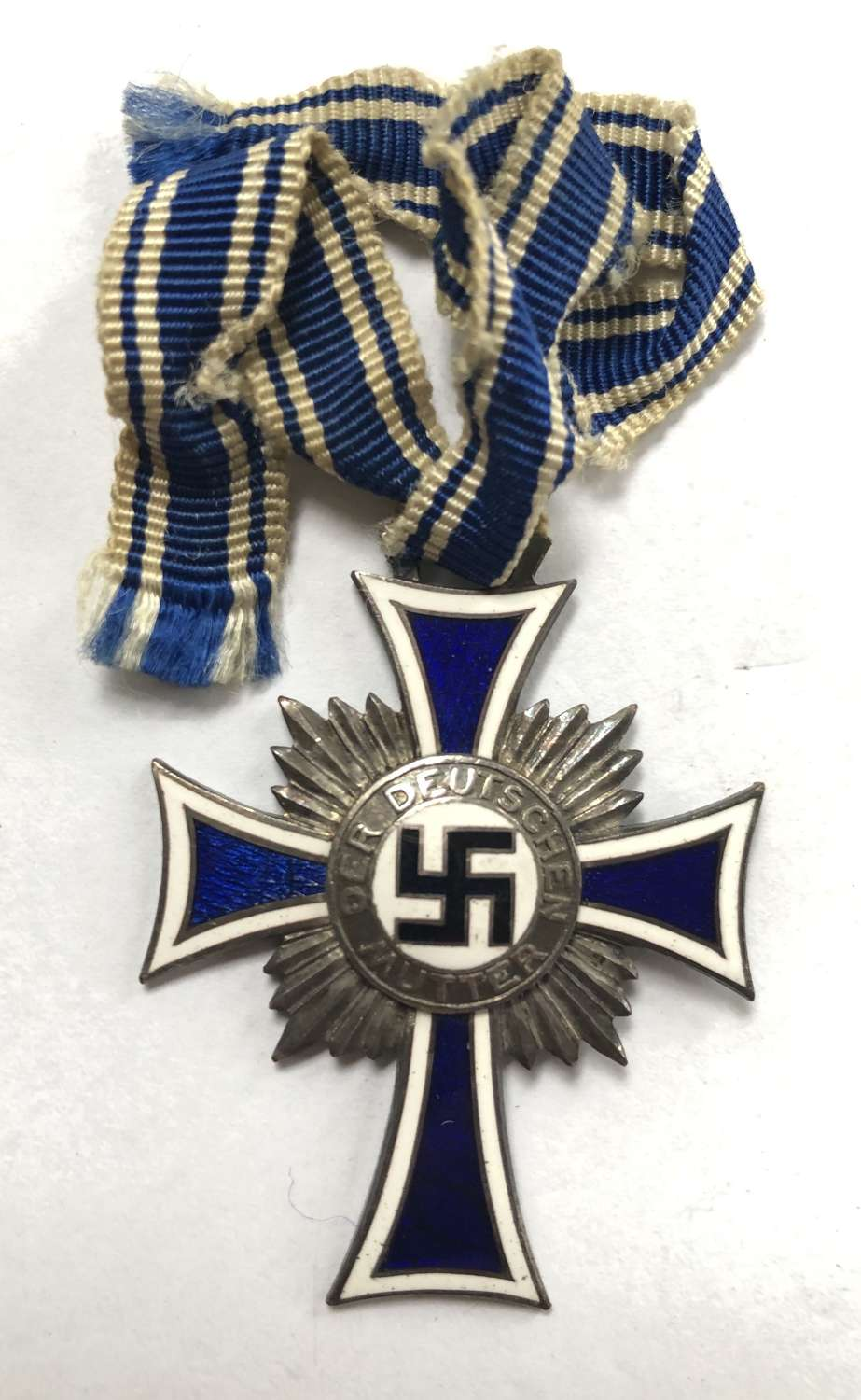German Third Reich Mother's Cross 2nd Class circa 1938-45