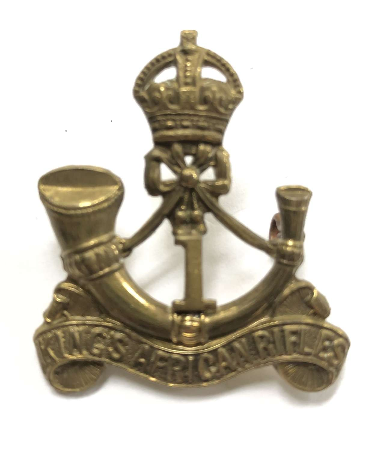 1st (Nyasaland) King's African Rifles cap badge