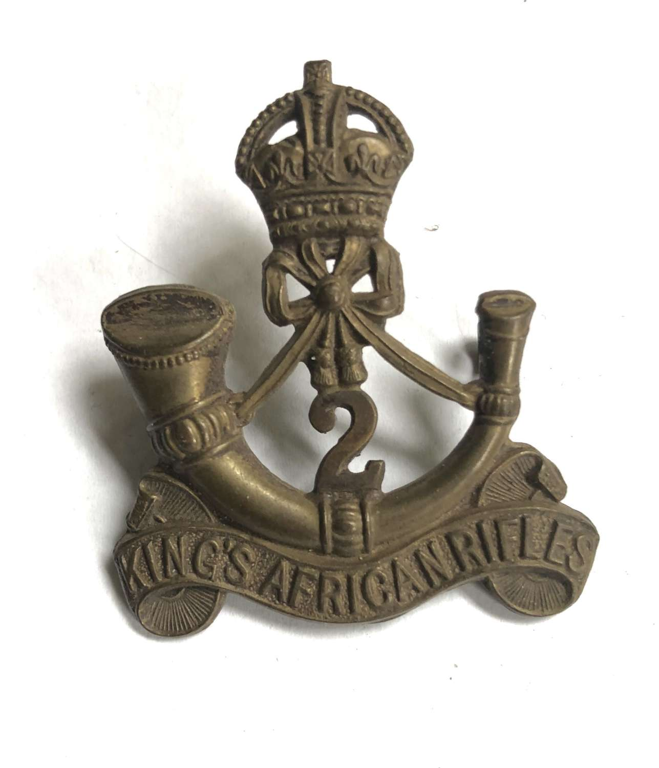 2nd (Nyasaland) King's African Rifles cap badge