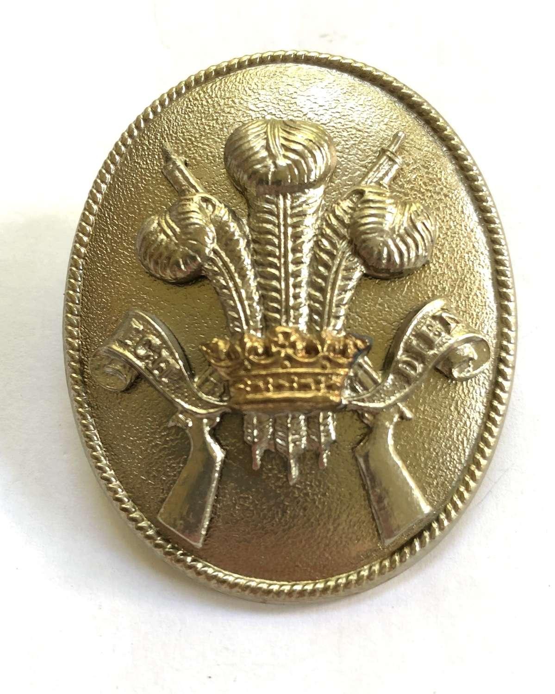 3rd Carabiniers NCO's bi-metal arm badge