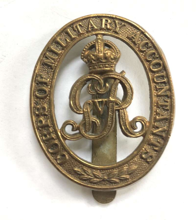 Corps of Military Accountants cap badge circa 1919-27