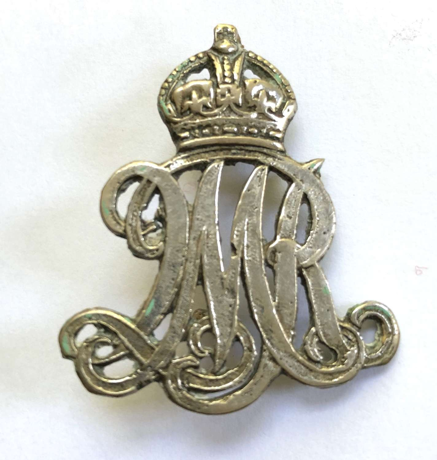 Queen Mary's Own Surrey Yeomanry NCO's arm badge