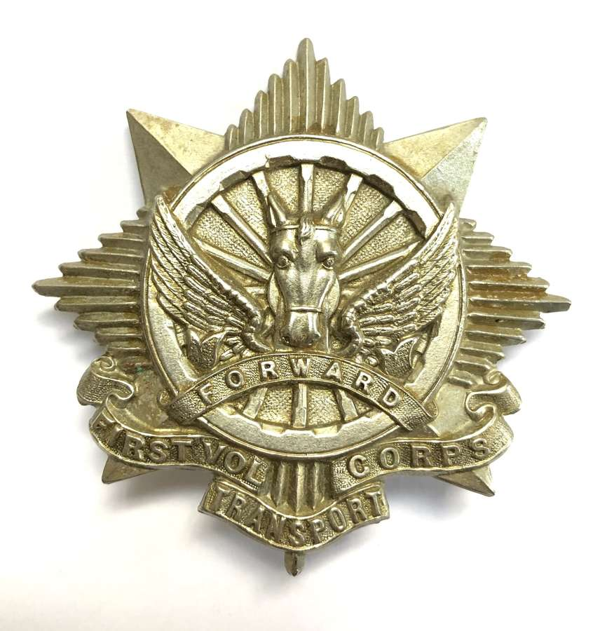 South Africa. First Volunteer Transport Corps badge circa 1903-13