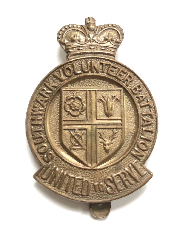 Southwark Volunteer Battalion WW1 London VTC cap badge