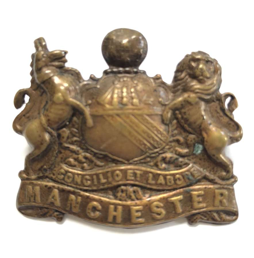 Manchester Regiment 'Pals' WW1 'Kitchener's Army' cap badge