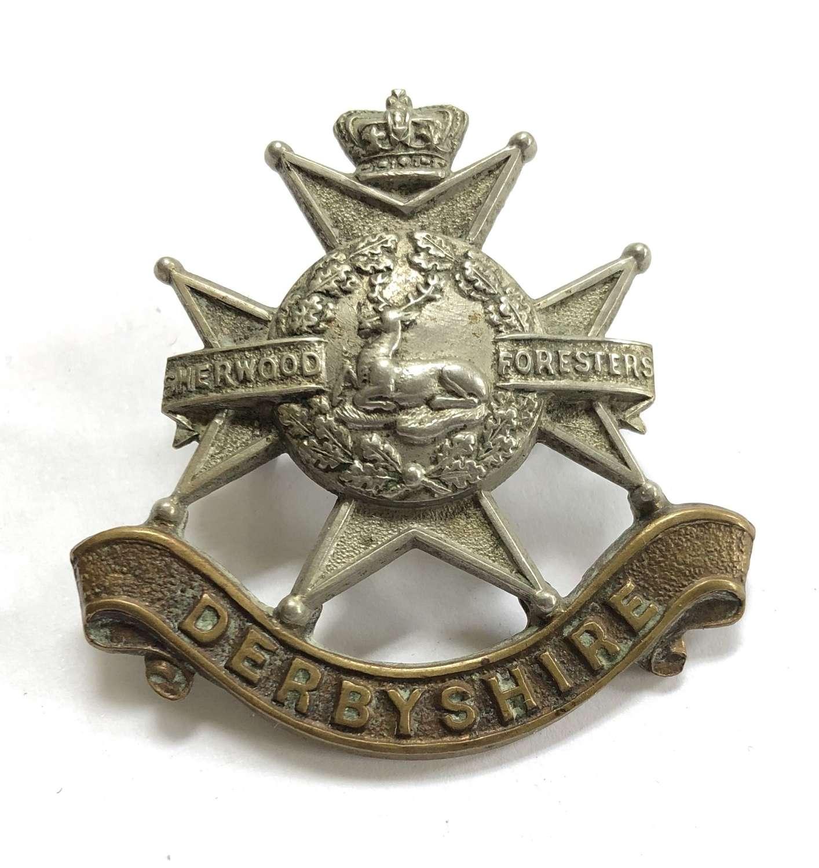 Sherwood Foresters (Derbyshire Regt.) Victorian OR's cap badge