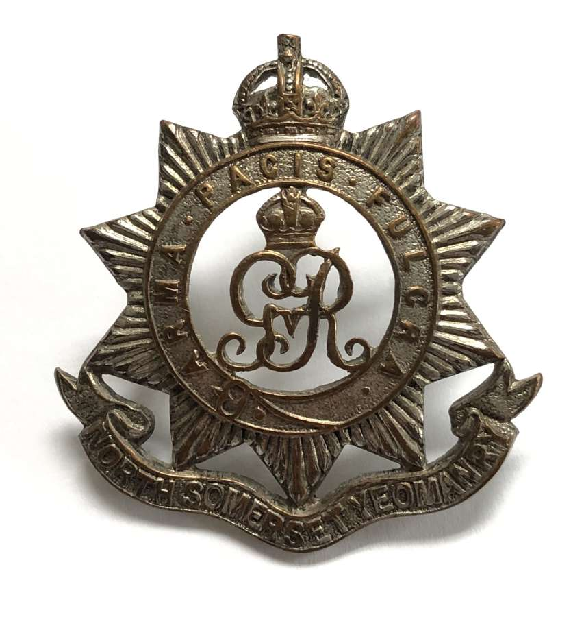 North Somerset Yeomanry Officer's cap badge