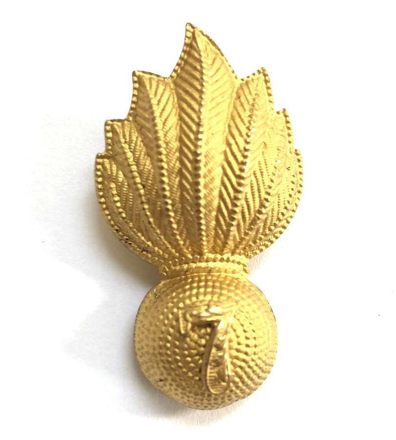 7th Bn. London Regiment Officer's forage cap badge by JR Gaunt, Lond