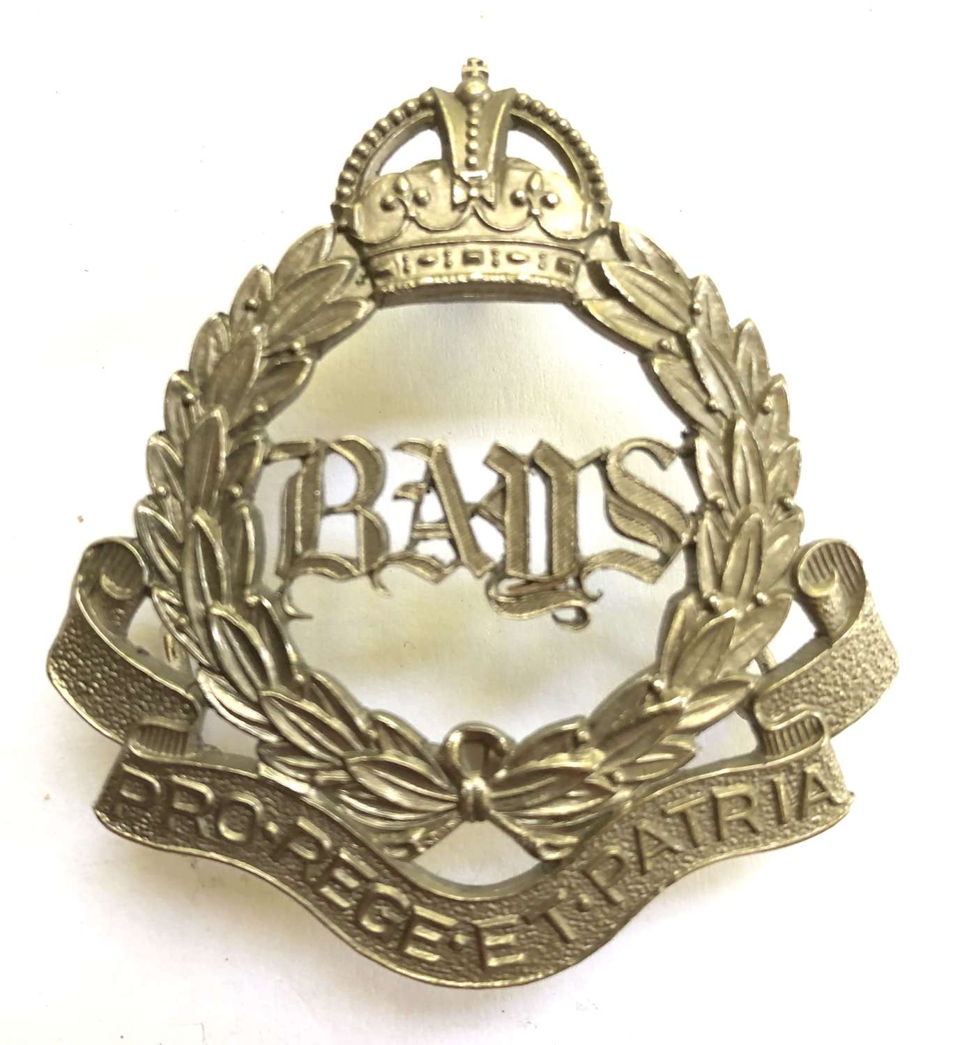 2nd Dragoon Guards (Queen's Bays) post 1909 NCO's arm badge