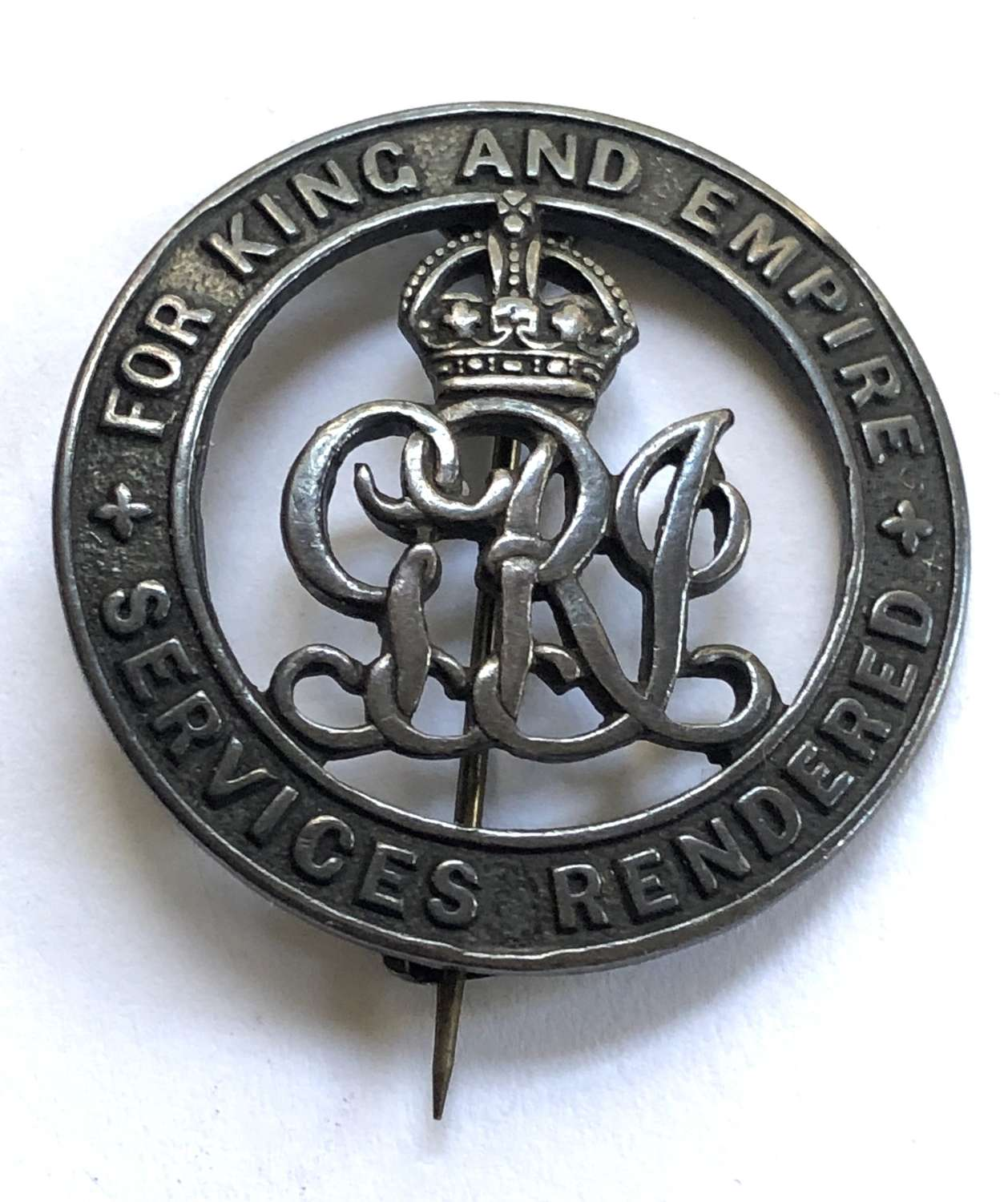 Honourable Artillery Company HAC WW1 silver War Badge