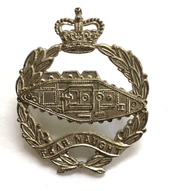 Royal Tank Regiment Offcer's beret badge earlyb EIIR period by Firmin