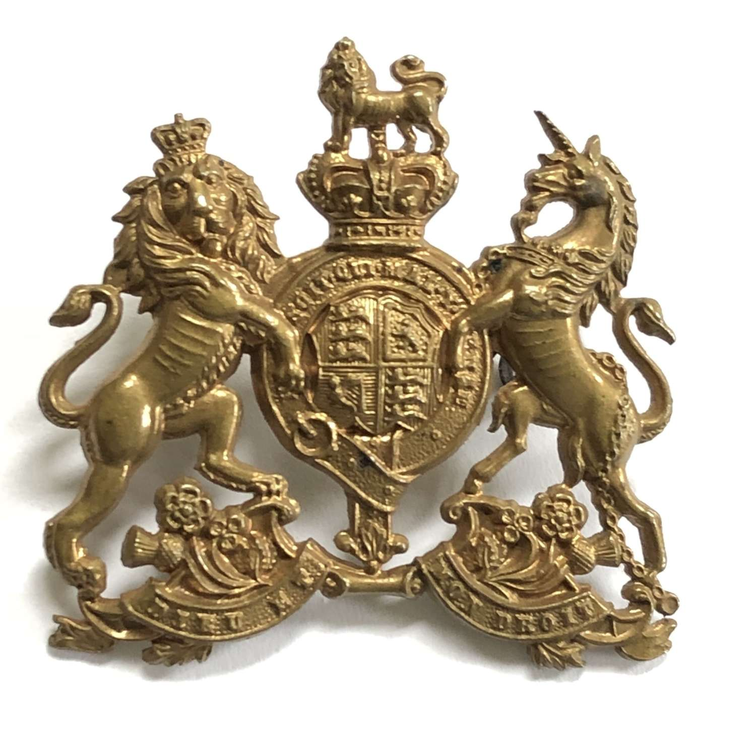 Home Counties and English Reserve Regiments Boer War cap badge