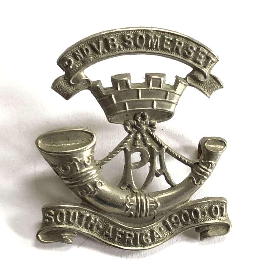 2nd VB Somerset Light Infantry badge c1905-08 only