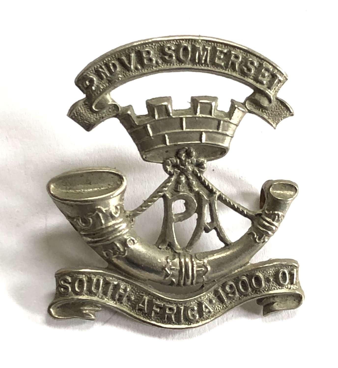 2nd VB Somerset Light Infantry badge c1905-08 only